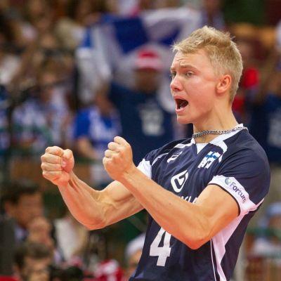 Lauri Kerminen lentopallon MM-kisat 2014