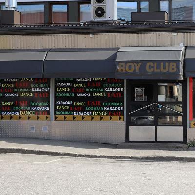 Yökerho Roy Club Rovaniemen Maakuntakadulla