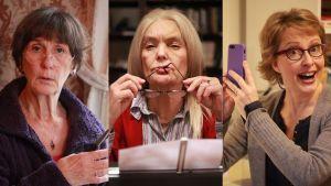 Lilga Kovanko, Sue Lemström, Anna Hultin