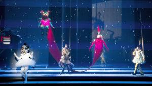 Lumikki Baselin oopperatalossa