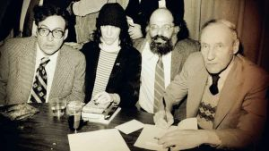 William S. Burroughs, Allen Ginsberg, Patti Smith ja Carl Solomon