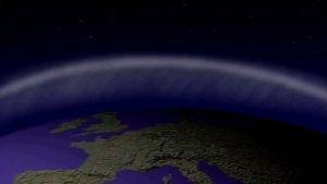 Avaruus, maapallo, ilmakehä