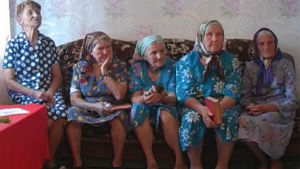 Kvinnor i Gammalsvenskby, Ukraina, Yle 2005