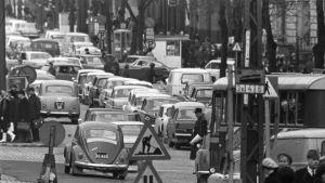 Trafik i Helsingfors, Yle/Kalle Kultala 1960