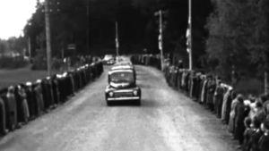 Jean Sibelius begravning, 1957