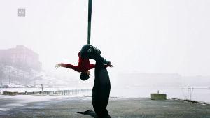 ilma-akrobaatti Heini Koskinen