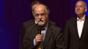 III Kansainvälisen Sibelius-laulukilpailun puheenjohtaja pianotaiteilija Gustav Djupsjöbacka.