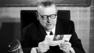 President Paasikivi öppnar OS i Helsingfors, 1952