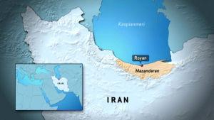 Iran kartalla kahdesti