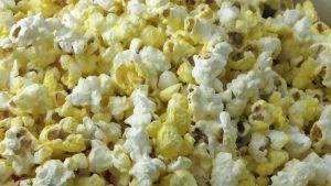 popcornia, paukkumaissia, lähikuva