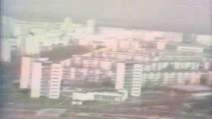 Helikopterikuvaa Tšernobylistä 1986.