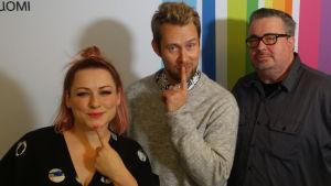 Erin, Waltteri Torikka ja Pekka Laine Levylautakunnassa