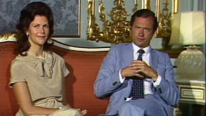 Drottning Silvia, kung Carl XVI Gustaf, Yle 1983