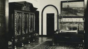 Rettigin palatsin sisätilaa 1920-luvulta