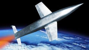 Det föreslagna tyska rymdbombplanet Silbervogel.