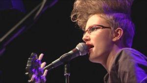 Sister Twisters solist Elin Blom.