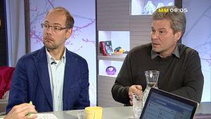 Kristian Wahlbeck och Leif Berg