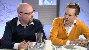 Mikael Segerstråle och Tony Rönnqvist
