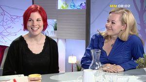 Linda Mustelin och Lotta Backlund