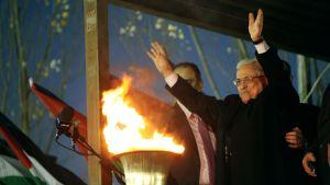 Mahmud Abbas 31.12.2012 i Ramallah