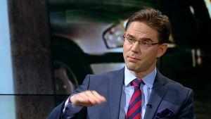Samlingspartiets ordförande Jyrki Katainen
