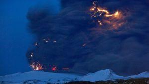 Eyjafjallajökulls utbrott i april 2010