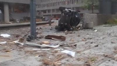 Explosion i Oslo