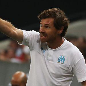 Tränaren André Villas-Boas tog sin första seger i Marseille.