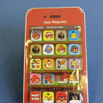 Angry Birds -jääkappimagneetti.