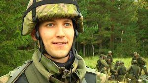 Jonas Heinola, reservist.