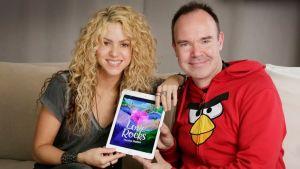 Shakira och Peter Vesterbacka