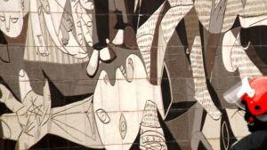 Picasson maalaus seinätaiteena