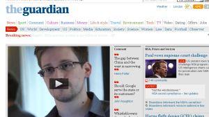 Den skyldige Edward Snowden träder fram