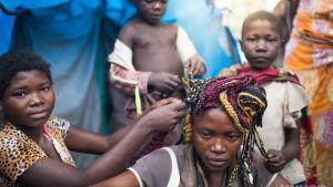 flyktingar i läger i Demokratiska republiken Kongo