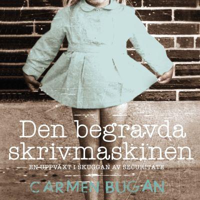 """Pärmbild till Carmen Bugans bok """"Den begravda skrivmaskinen"""""""