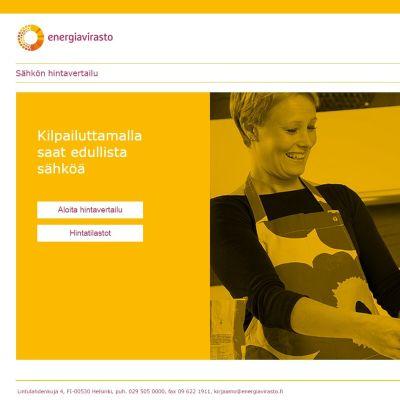 Sähkönhinta.fi-sivusto