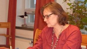 Hangös grundtrygghetsdirektör Elisabeth Kajander