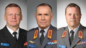 Befordringar inom försvarsmakten