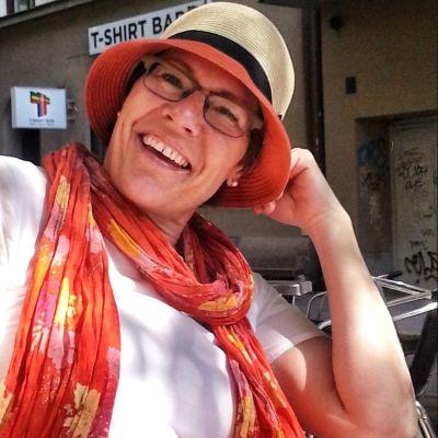 Katarina Rejman är en av Vegas sommarpratare 2014