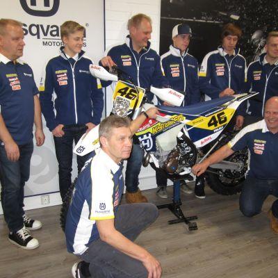 Jämsäläinen Kytönen Motorsport osallistuu enduron MM-sarjaan vuonna 2017.