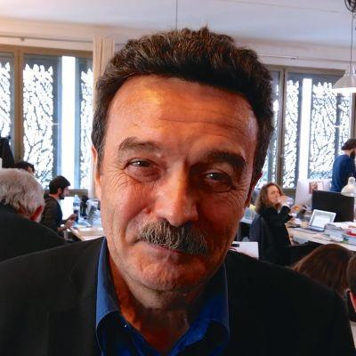 Grävande journalisten och författaren Edwy Plenel.