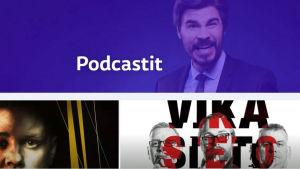 Kuvassa kuvakaappaus Yle Areenan podcast-sivulta