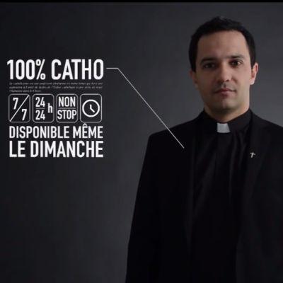 Den nya reklamvideon för katolska kyrkan har fått mycket uppmärksamhet.