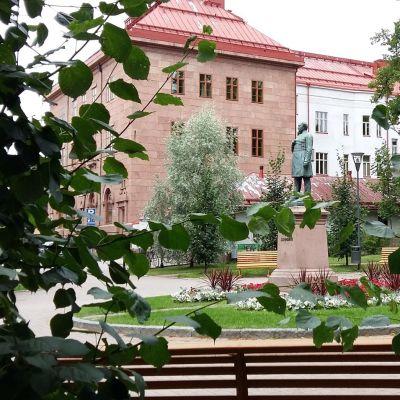 Runeberginpuisto Porvoossa