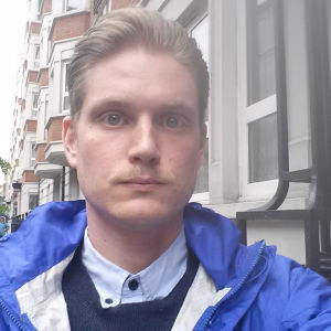 Viktor Heikel är Yle nyheters utrikesredaktör