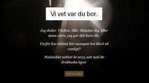Skärmdump från webbsidan Viha - Hat.
