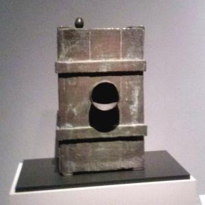 """""""Kvinna"""", bronsskulptur av Joan Miró"""