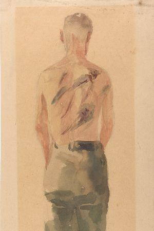 Jacob Lipschitz: Der Geschlagene (Mein Bruder Gedalyahu), Beaten (My Brother Gedalyahu) (1941–1944)