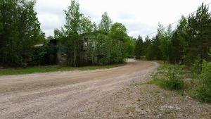 Sandgropen i Tallmo i Karis där en ny brandstation planeras.