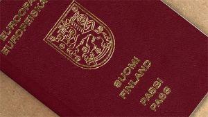 Finländskt pass.